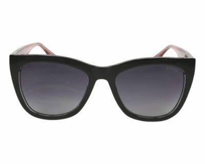 Guess Eyewear Sunglass GU7552 01B black grey gradient square cat eye womens sunglass culture