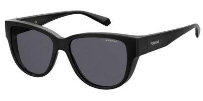Polaroid Eyewear Fitover PLD 9013S 807 M9 BLACK grey polarised fitover wraparound mens womens sunglass culture side