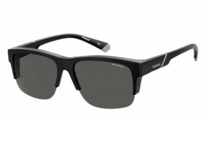Polaroid Eyewear Fitover PLD 9016S 807 M9 BLACK grey polarised fitover wraparound mens womens sunglass culture side