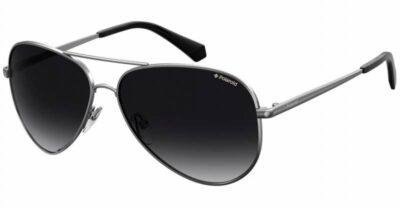 Polaroid PLD 6012 N NEW 6LB WJ 56 Dark Ruthenium/Grey Polarised Aviator sunglasses mens womens sunglass culture