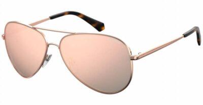 Polaroid PLD 6012 N NEW DDB JQ 56 gold copper rose gold Polarised Aviator sunglasses mens womens sunglass culture