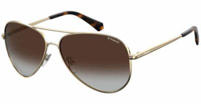 Polaroid PLD 6012 N NEW J5G LA 56 gold brown Polarised Aviator sunglasses mens womens sunglass culture