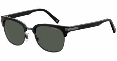 Polaroid PLD 2076S 907 M9 Black/Grey Polarised Clubmaster festival driving sunglass for men