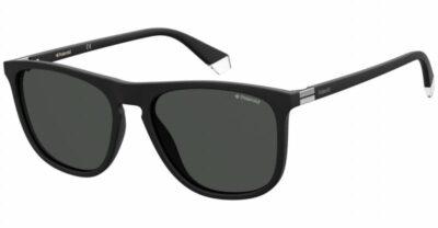 Polaroid PLD 2092 S 003 M9 56 Matte Black/Grey Polarised Square wayfarer sportwear driving sunglass men sunglass culture