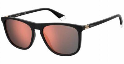 Polaroid PLD 2092 S 807 OZ black red mirrored Polarised Square wayfarer sportwear driving sunglass men sunglass culture