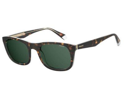 Polaroid sunglass eyewear PLD 2104/S/X KRZ UC 55 brown green Polarised wayfarer mens womens driving everyday sunglass culture