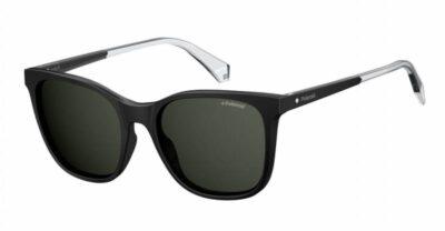 Polaroid PLD 4059S 807 M9 53 Black Grey Polarised Square cat eye fashion sunglasses for women sunglass culture