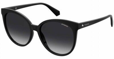 Polaroid PLD 4086S 807 WJ 57 Black Grey Polarised Round cat eye fashion sunglasses for women sunglass culture